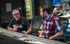 Composer John Powell talks with additional engineer/mixer John Traunwieser