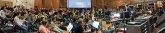 Composer/conductor John Powell conducts the Hollywood Studio Symphony