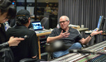 Scoring mixer Dennis Sands talks with composer Nathan Wang