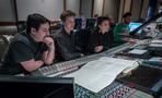 Daniel Chan, Nathan Blume and Sherri Chung, and scoring mixer Greg Hayes