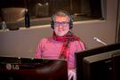 Stage engineer Rich Wheeler