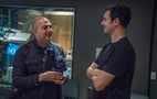 Director Hany Abu-Assad and composer Ramin Djawadi
