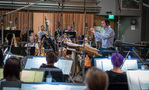Ramin Djawadi and the strings perform on <em>The Mountain Between Us</em>