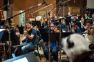 The orchestra records a cue for an episode of <i>The Orville</i>