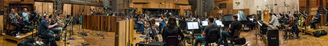The orchestra records a cue for Seth MacFarlane's <i>The Orville</i>
