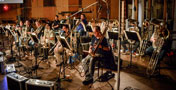 A massive brass section performs on <i>Pirates of the Caribbean: Dead Men Tell No Tales</i>