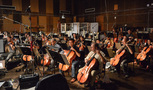 The Hollywood Studio Symphony performs on <i>Pirates of the Caribbean: Dead Men Tell No Tales</i>