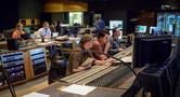 Assistant music editor Allegra de Souza, music editor Jim Schultz, orchestrator Robert Litton, co-composer Chris Bacon, and scoring mixer Casey Stone