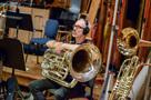 Tuba player Doug Tornquist