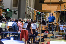 Conductor Pete Anthony conducts the Hollywood Studio Symphony