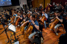 The cello and bass sections on <em>Star Trek: Discovery</em>