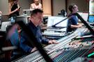 Scoring mixer Michael Perfitt and stage recordist Tom Hardisty