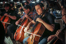 The cellos perform on <em>Star Wars: The Last Jedi</em>