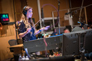 Composer Pinar Toprak conducts the Hollywood Studio Symphony