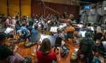 Conductor Nick Glennie-Smith records with the Hollywood Studio Symphony