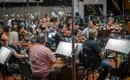The strings perform on <em>Aquaman</em>