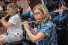 Flutist Geri Rotella