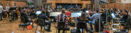 The Hollywood Studio Symphony performs on <em>The Darkest Minds</em>