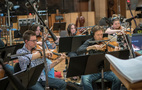 The viola section on <em>The Darkest Minds</em>