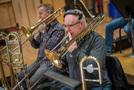 Alex Illes on trombone