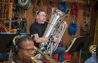 Doug Tornquist on tuba