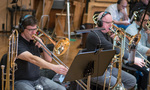 Trombonists Steve Suminski and Alex Iles