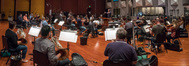 The Hollywood Studio Symphony performs on <em>Deception</em>