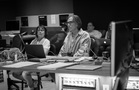 Film editor Debra Neil-Fisher and music editor Bill Abbott