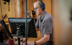 Composer Jeff Beal prepares to record on the series finale to <em>House of Cards</em>