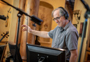 Composer Jeff Beal conducts on the series finale to <em>House of Cards</em>
