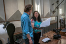 Composer Nathan Barr and lead orchestrator Penka Kouneva discuss a cue