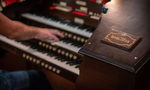 Composer Nathan Barr restored the 20th Century Fox scoring stage Wurlitzer organ, featured in his score