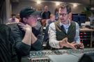 Director/writer Brad Bird and composer Michael Giacchino discuss a cue