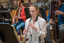 Jessica Pearlman performs on oboe