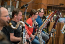The clarinets and bassoons perform