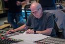 Scoring mixer Dennis Sands goes over the score