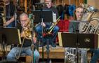 Bass trombonist Bill Reichenbach and tubist Doug Tornquist