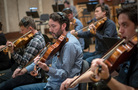 The violas record a cue for <i>Maze Runner: The Death Cure</i>