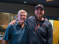 French hornist Dave Everson and composer John Paesano