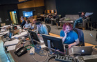 The music team works on composer John Paesano's score for <i>Maze Runner: The Death Cure</i>