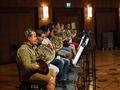 The French horns perform on <em>The Meg</em>