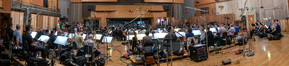 The orchestra performs Henry Jackman's score for <i>The Predator</i> with conductor Gavin Greenaway