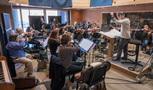 The Hollywood Studio Symphony string ensemble on <em>A Quiet Place</em>