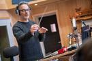 Composer Marco Beltrami conducts on <em>A Quiet Place</em>