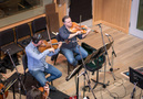 Andrew Duckles and Shawn Mann on viola