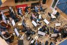 The strings perform on <em>A Quiet Place</em>