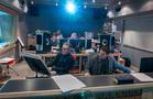 Inside the control room at Pianella Studios