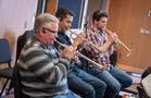 The trumpets perform on <em>A Quiet Place</em>
