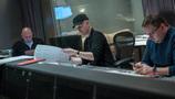 Producer Jeff Fierson,  composer Andrew Lockington, and scoring mixer Andrew Dudman