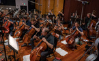 The cellos and basses perform on <em>Smallfoot</em>